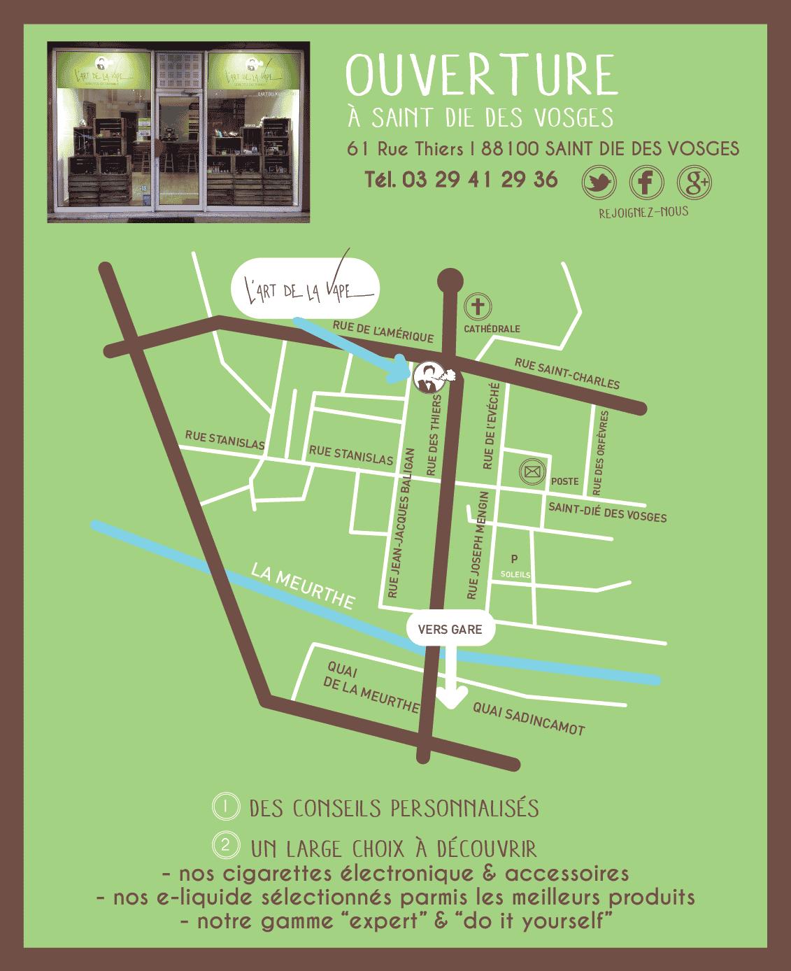 L'Art de la Vape - E-cigarettes, accessoires et E-liquides - Saint Dié des Vosges