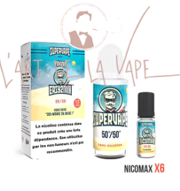 kit diy easy2mix 100ml 12mg supervape 50/50 pg vg concentre arome faire eliquide maison soi meme ecig vape cigarette electronique alsace vosges haguenau saint-die obernai
