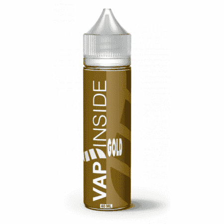 gold vap'inside 40ml 60ml boostable nicotine eliquide france eliquid pav pret a vaper vape ecig cigarette electronique