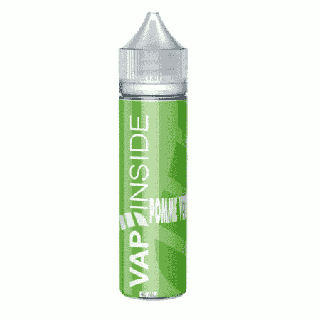 pomme verte vap'inside 40ml 60ml boostable nicotine eliquide france eliquid pav pret a vaper vape ecig cigarette electronique
