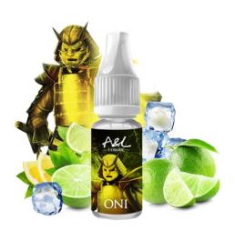 Oni 10ml Arômes et Liquides Un mélange complexe aux saveurs d'agrumes et de citron vert, le tout relevé d'un brin de fraîcheur