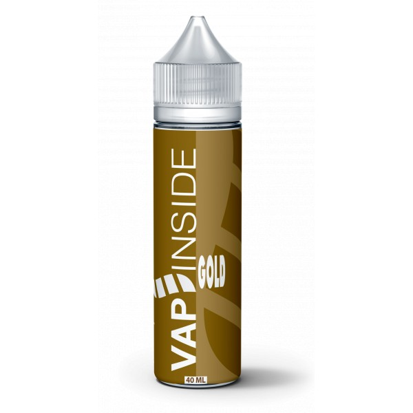 gold vap'inside 40ml 60ml boostable nicotine eliquide france eliquid pav pret a vaper vape ecig cigarette electronique